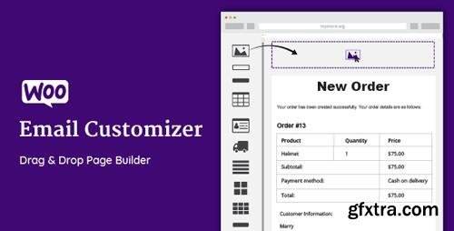 CodeCanyon - WooCommerce Email Customizer with Drag and Drop Email Builder v1.4.31 - 19849378