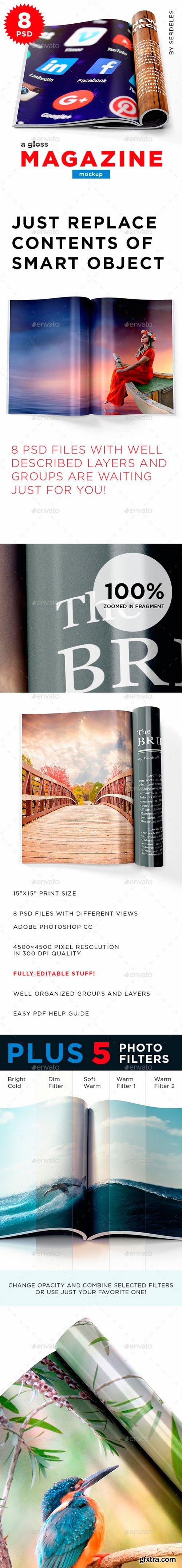 Graphicriver - 22043609 Magazine Mockup