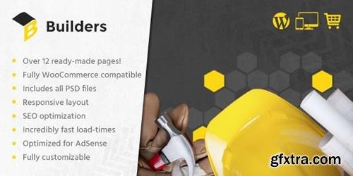 MyThemeShop - Builders v1.2.3 - Best WordPress Theme For Construction Websites, Architectural Firms, & Building Freelancers
