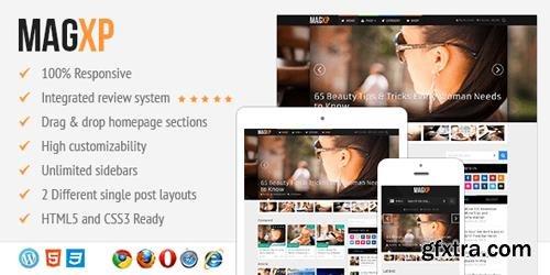 MyThemeShop - MagXP v3.1.5 - Ultimate Magazine WordPress Theme Multiple Layouts