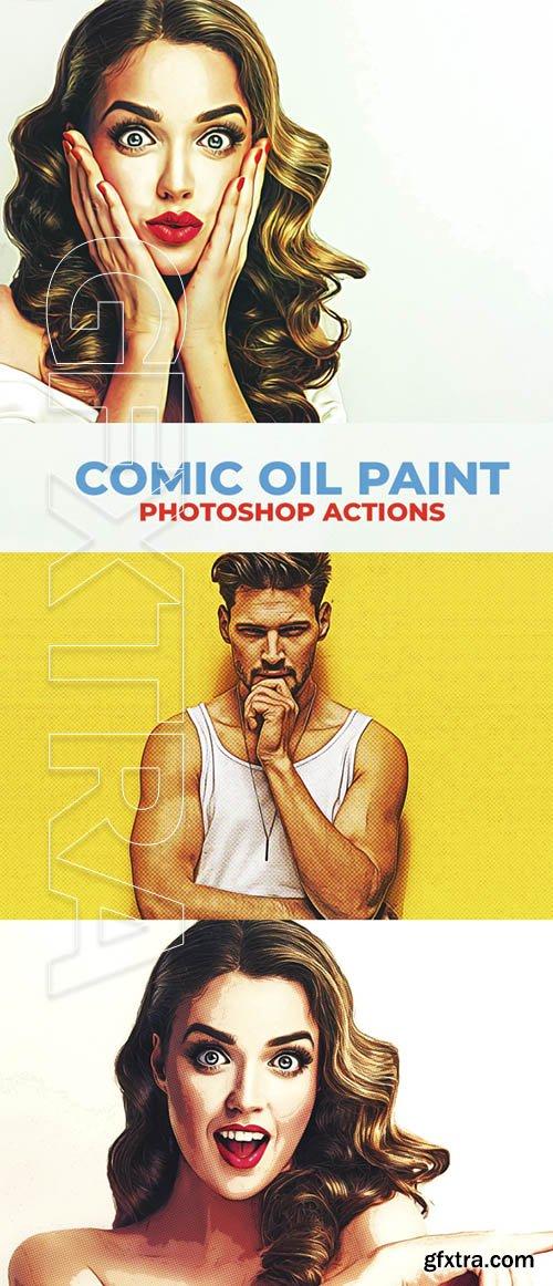 GraphicRiver - Comic Oil Paint Photoshop Actions 22056518