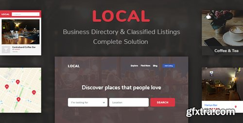 CodeCanyon - Business Directory Store Finder | Local v1.6.3 - 21780328
