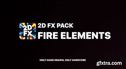 Fire Elements Pack - After Effects 89617