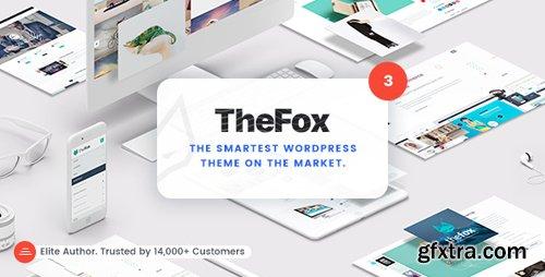 ThemeForest - TheFox v3.4.4 - Responsive Multi-Purpose WordPress Theme - 11099136