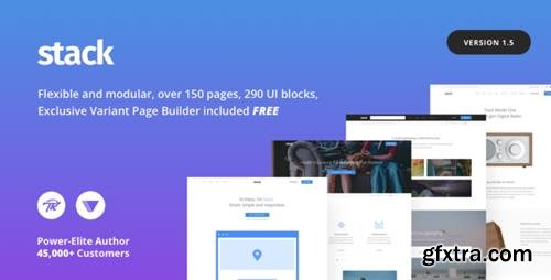 ThemeForest - Stack v1.5.10 - Multi-Purpose WordPress Theme with Variant Page Builder & Visual Composer - 19707359