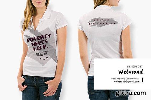 Charity | T-shirt Design Template