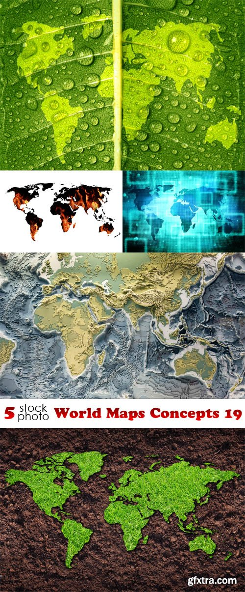 Photos - World Maps Concepts 19