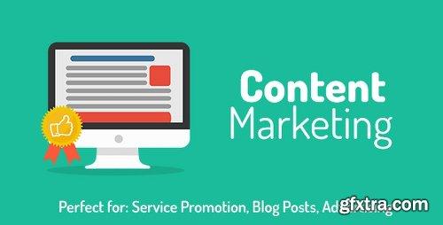 Videohive Content Marketing Opener 10972583