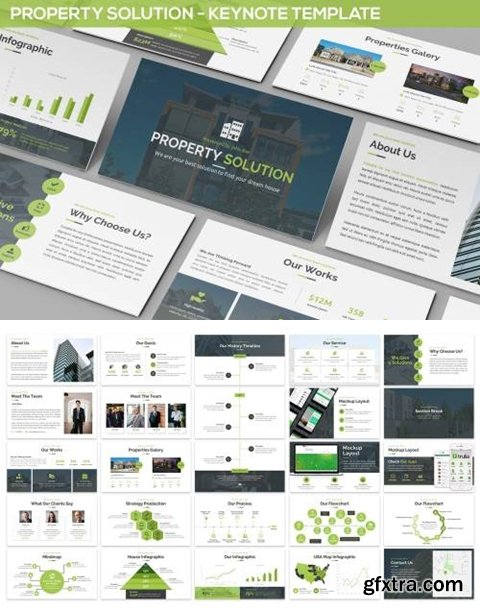 Property Solution - Keynote Template