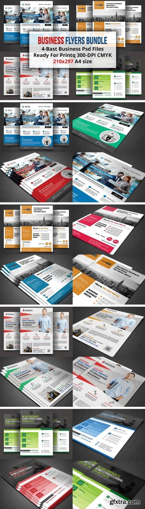 CM - Business Flyers Bundle 1521058