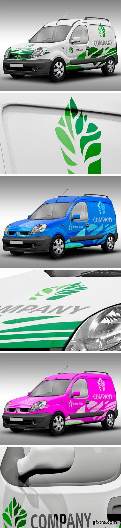 Thehungryjpeg - Vehicle Branding Mockup 82989