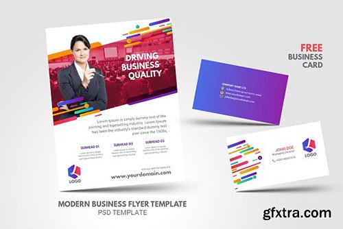 CreativeMarket - Modern Clean Multipurpose Business 2609042
