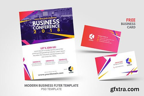CreativeMarket - Modern Trend Business Conference 2609052