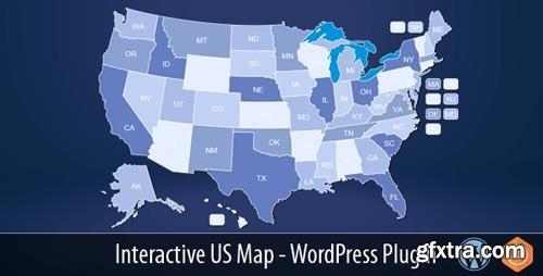CodeCanyon - Interactive US Map v2.2.4 - WordPress Plugin - 10359489