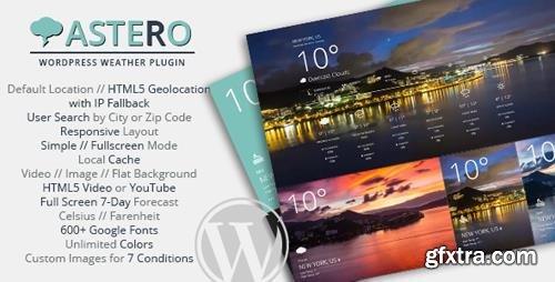 CodeCanyon - Astero WordPress Weather Plugin v1.4.2 - 9473087