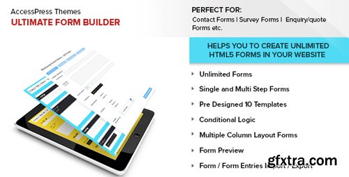 CodeCanyon - Ultimate Form Builder v1.1.9 - 14644208