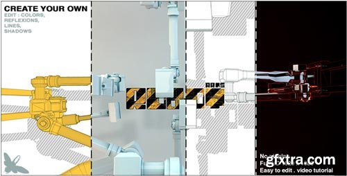 Videohive - Robot Arms Logo - 13088606
