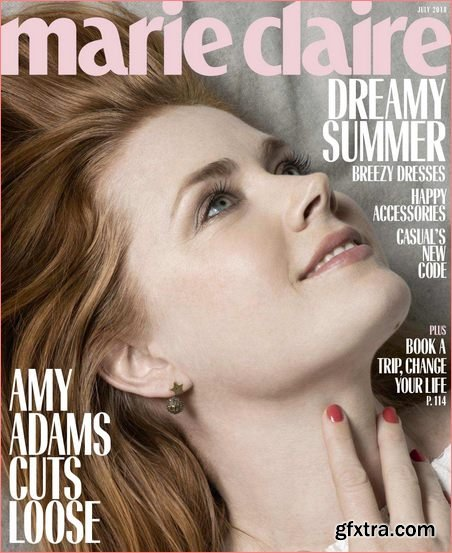 Marie Claire USA – July 2018