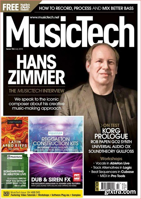 MusicTech – July 2018