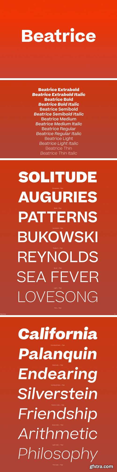 Beatrice Font Family
