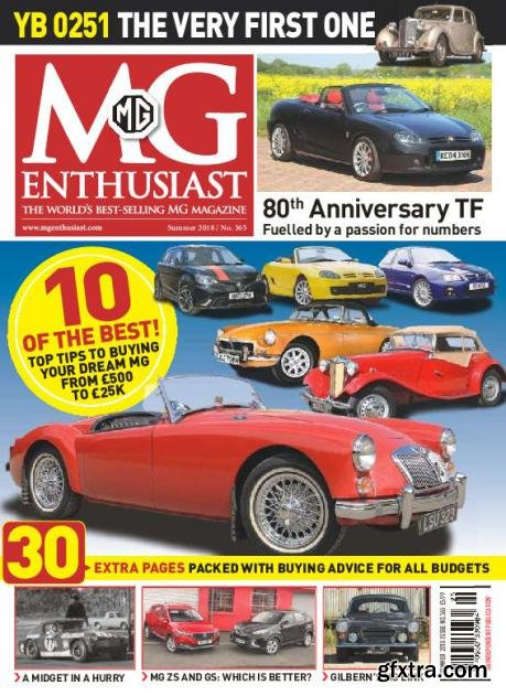 MG Enthusiast – August 2018