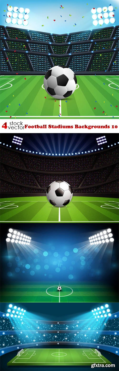 Vectors - Football Stadiums Backgrounds 10