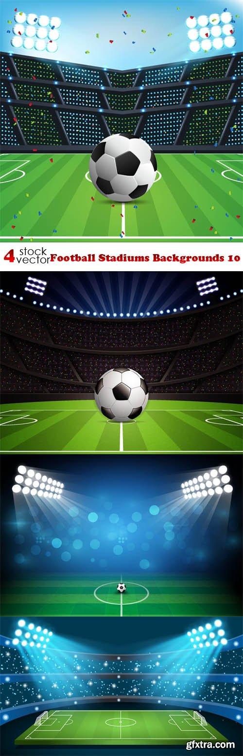 Vectors - Football Stadiums Backgrounds 10