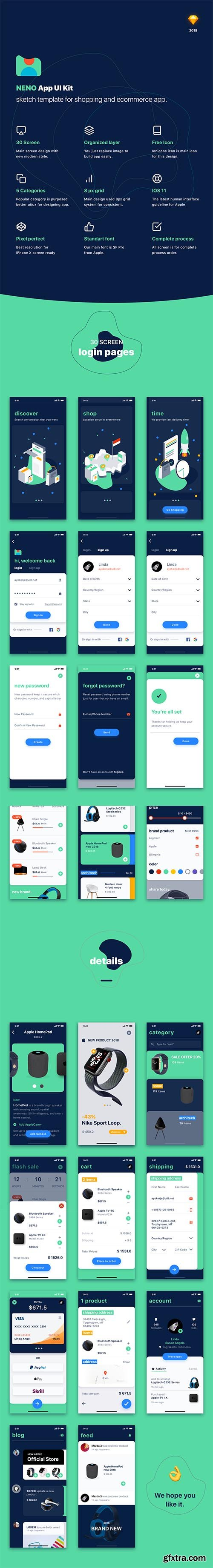 NENO App UI Kit