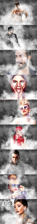 CreativeMarket - Fog Photoshop Action 2538168