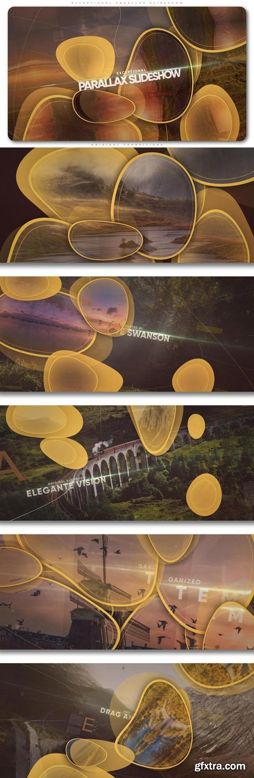 Videohive - Exceptional Parallax Slideshow - 21597838