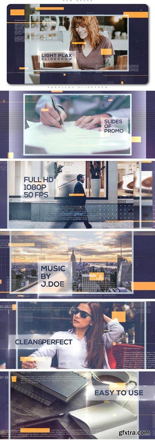Videohive - Light Parallax Universal Slideshow - 20357874