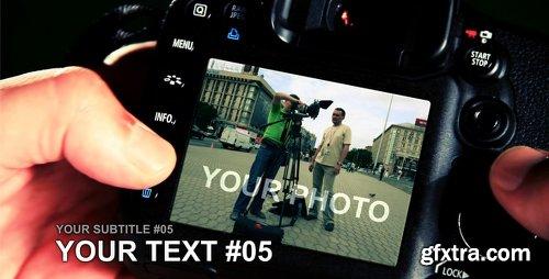 Videohive PHOTOGRAPHER 116977