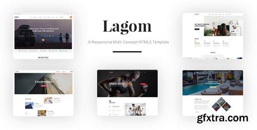 ThemeForest - Lagom v1.0 - A Responsive Multi Concept HTML5 Template - 22062264