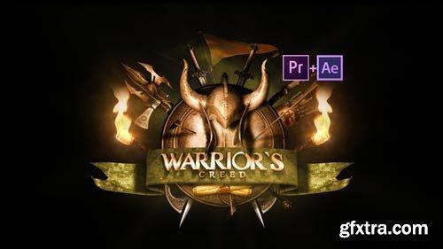 Videohive - Epic Warrior Logo - 21848622