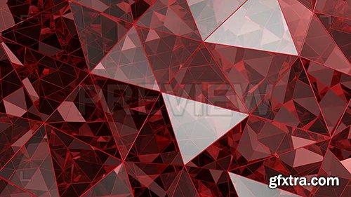 Red Kaleidoscope Glass Background 87152