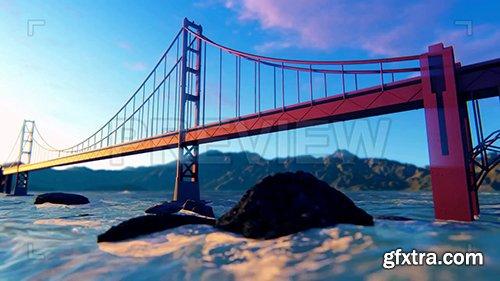 Golden Gate Bridge Fly By 87300