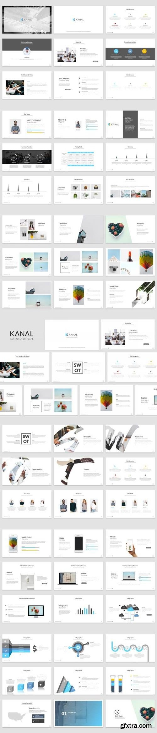 Kanal Keynote Template