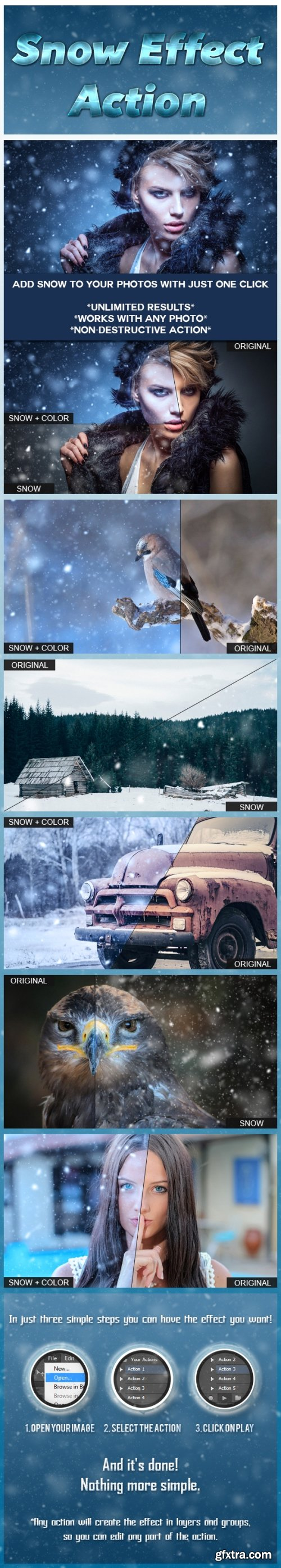 Graphicriver - Snow Effect Action 14340811