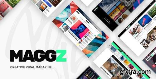 ThemeForest - Maggz v1.1 - A Creative Viral Magazine and Blog Theme - 21072194