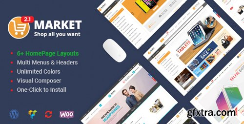 ThemeForest - Market v2.3.0 - Shopping WooCommerce WordPress Theme - 9514470