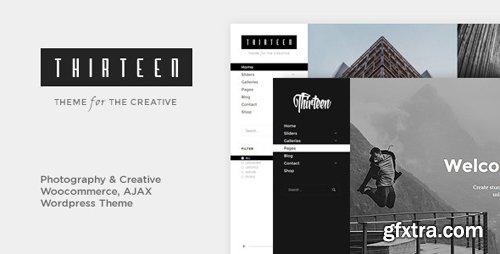 ThemeForest - Thirteen v1.2.7 - Photography & Creative WordPress Theme - 13269243 - NULLED