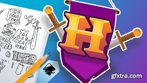 Design video game logos with Inkscape from zero!