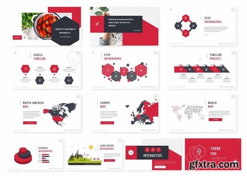 Hexas Powerpoint Template