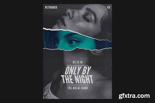 Only By The Night Flyer Poster