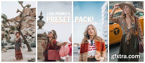 Lisa Prang Lightroom Presets Pack
