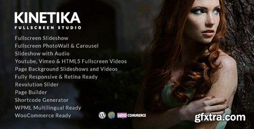 ThemeForest - Kinetika v4.0 - Fullscreen Photography Theme - 12162415