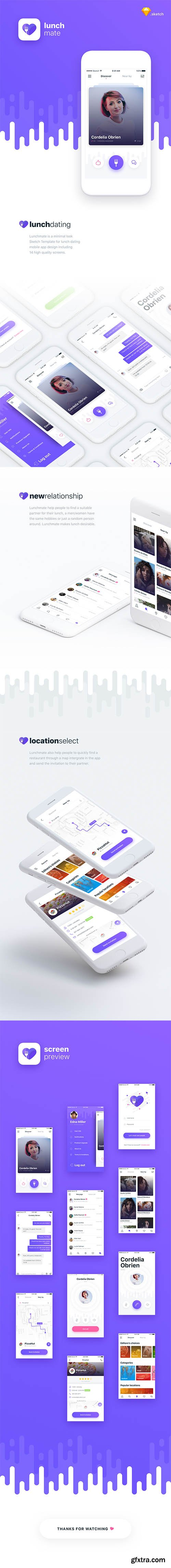Lunchmate Dating UI Kit