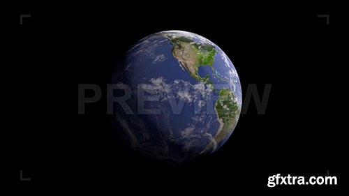 3D Realistic Planet Zoom In-Zoom Out 87295