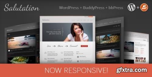 ThemeForest - Salutation v3.0.17 - Responsive WordPress + BuddyPress Theme - 548199