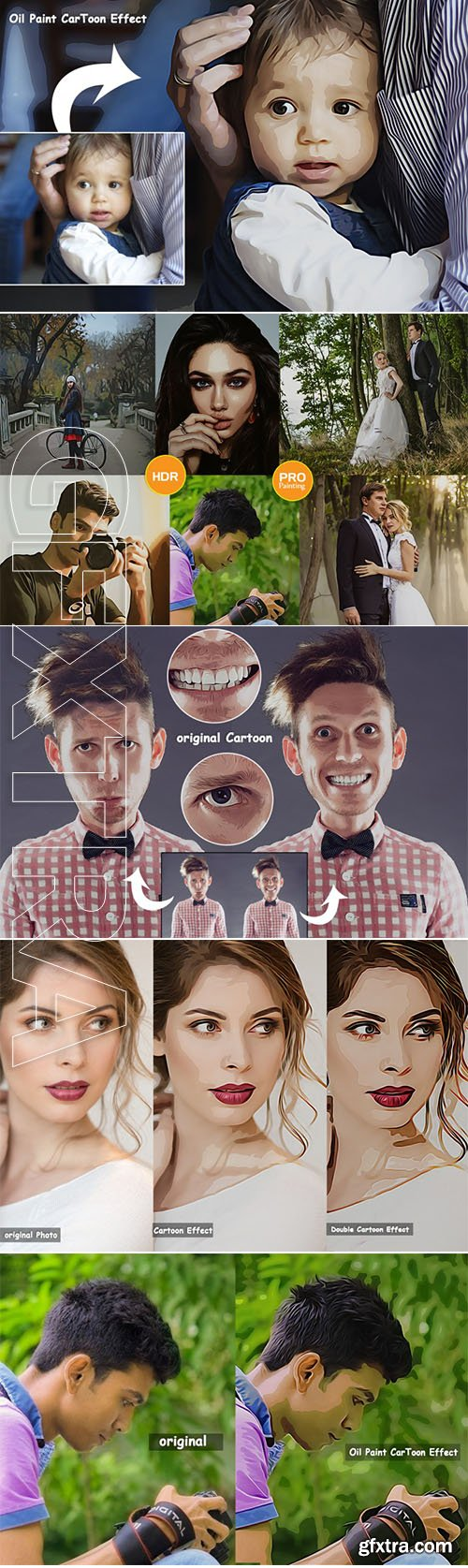 Graphicriver - Pro Oil Cartoon Photo Action v.2